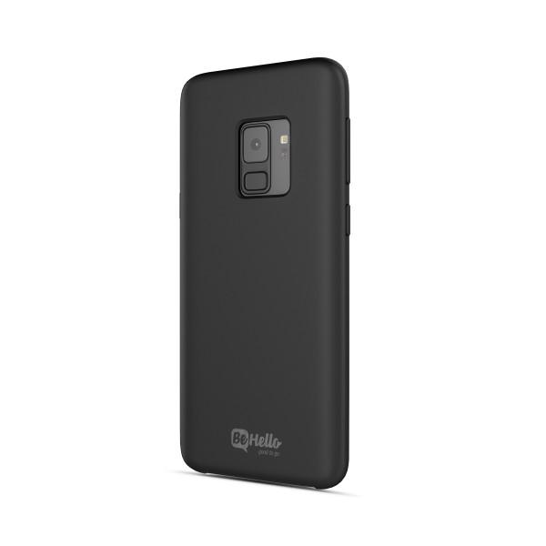 BeHello Samsung Galaxy S9 Siliconen Hoesje Zwart