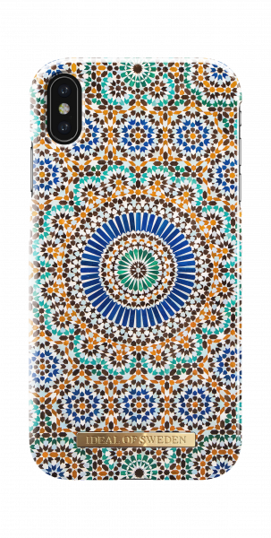 iDeal of Sweden iPhone XS Max Fashion Back Case Moroccan Zellige