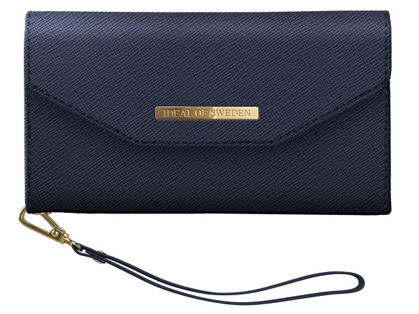 iDeal of Sweden iPhone XS Max Mayfair Clutch Navy
