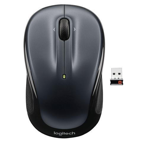 Logitech Mouse LGT-M325B Wireless Dark Silver