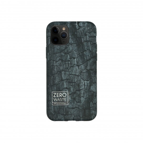 Wilma iPhone 12 mini Smartphone Eco Case Bio Degradeable Coal Black