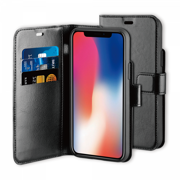 BeHello iPhone 11 Gel Wallet Case Black
