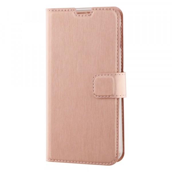 BeHello Samsung Galaxy S10E Hoesje - Gel Wallet Case Met Ruimte Voor 3 Pasjes - Rose Goud