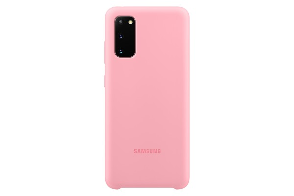 Samsung Galaxy S20 Silicone Cover Pink