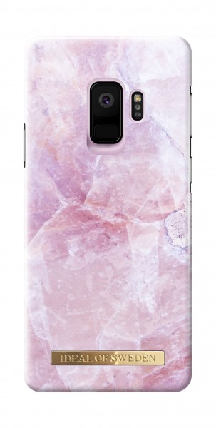 iDeal of Sweden Fashion Back Case Pilion Pink Marble voor Samsung Galaxy S9