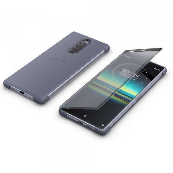 Sony Xperia 1 Style Cover Touch Case Grey