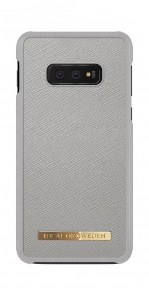 iDeal of Sweden Samsung Galaxy S10e Fashion Case Saffiano Light Grey