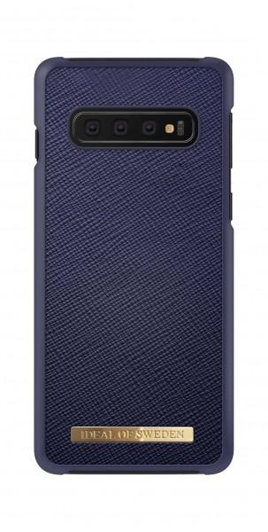 iDeal of Sweden Samsung Galaxy S10 Fashion Case Saffiano Navy