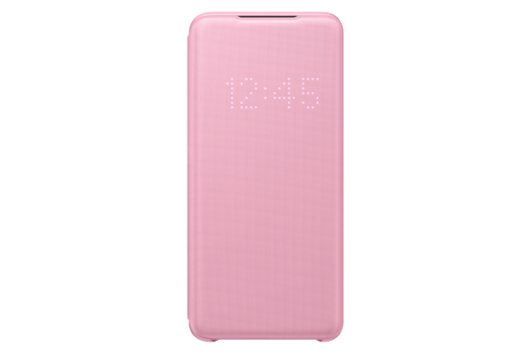 Samsung Galaxy S20 LED View Cover Pink