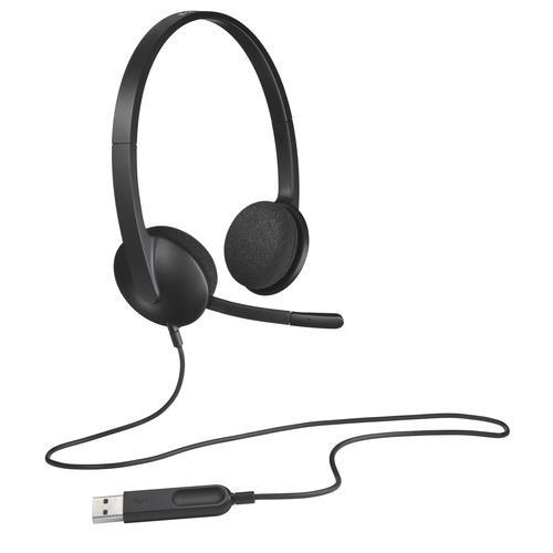 Logitech Headset H340 Headband Black