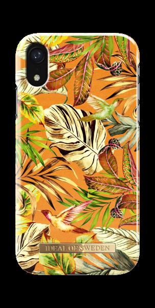 iDeal of Sweden iPhone Xr Fashion Back Case Mango Jungle
