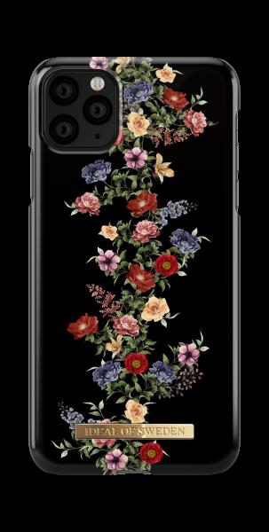 iDeal of Sweden iPhone 11 Pro Max Fashion Back Case Dark Floral