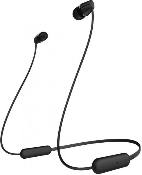 Sony In-Ear Wireless Headphone WIC200B.CE7 Black
