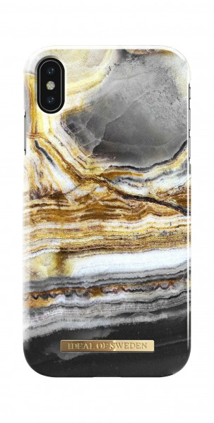 iDeal of Sweden Fashion Back Case Outer Space Agate voor iPhone Xs Max