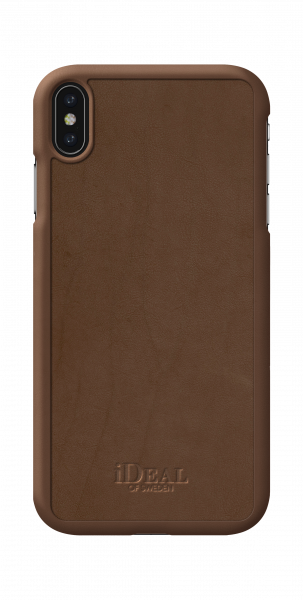 iDeal of Sweden iPhone XS Max Fashion Case Como Brown PU-Leather