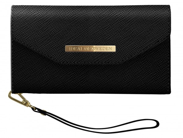 iDeal of Sweden iPhone 11 Mayfair Clutch Black