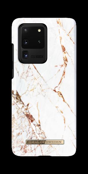 iDeal of Sweden Samsung S20 Ultra Fashion Back Case Carrarra Gold
