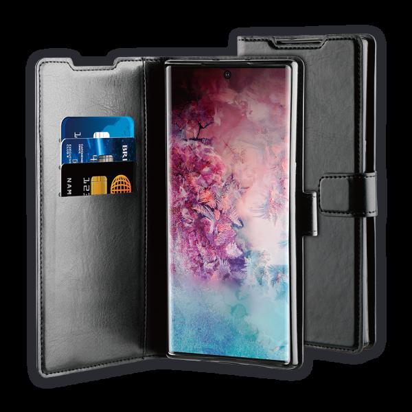 BeHello Samsung Galaxy Note10 Pro Gel Wallet Case Black