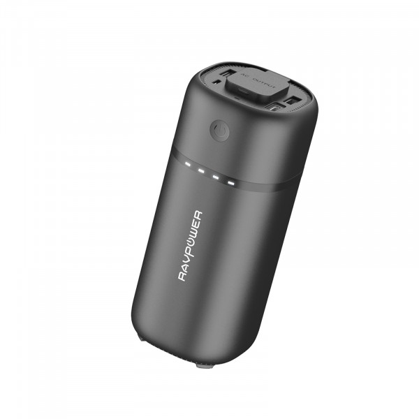 RAVPower Powerbank RP-PB105 RP 20100mAh Powerstation 2 USB Port + USB-C Black