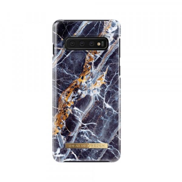 iDeal of Sweden Samsung Galaxy S10 Fashion Back Case Midnight Blauw Marble