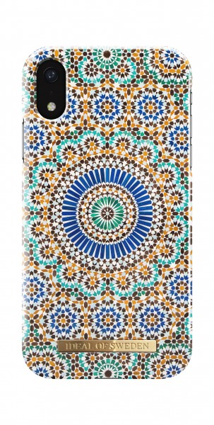 iDeal of Sweden iPhone Xr Fashion Back Case Moroccan Zellige