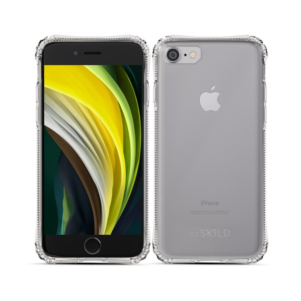 SoSkild Absorb Back Case Transparant voor iPhone SE (2020) 8 7
