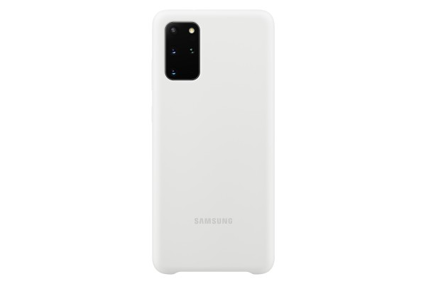 Samsung Galaxy S20+ Silicone Cover White