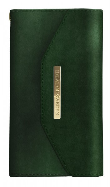 iDeal of Sweden Samsung Galaxy S10e Mayfair Clutch Velvet Green
