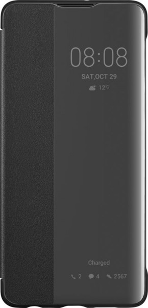 Huawei P30 View Flip Cover Case Black