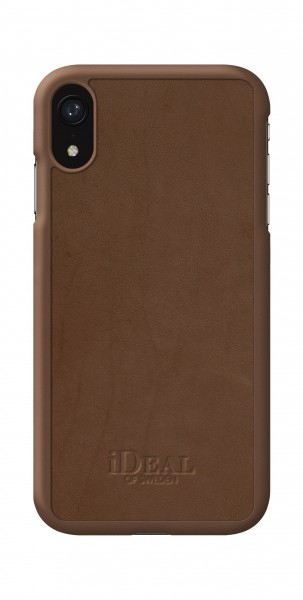 iDeal of Sweden iPhone Xr Como Case Brown