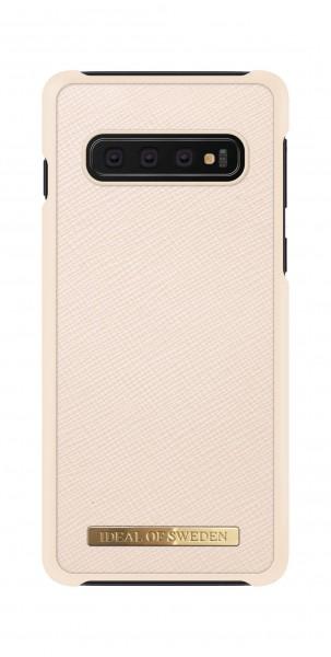 iDeal of Sweden Samsung Galaxy S10 Fashion Case Saffiano Beige