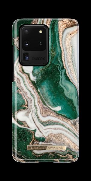 iDeal of Sweden Samsung S20 Ultra Fashion Back Case Golden Jade Marble