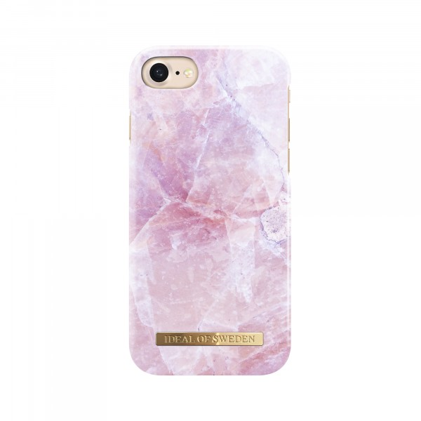 iDeal of Sweden Fashion Back Case Pilion Pink Marble voor iPhone 8 7
