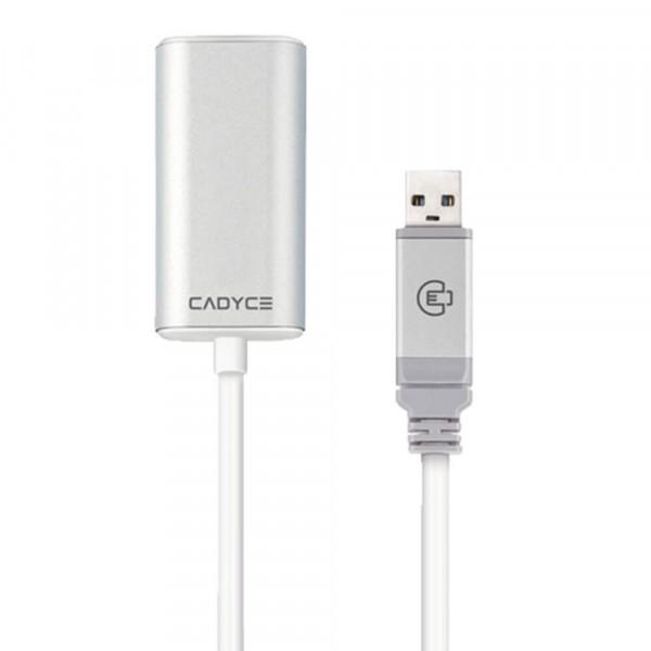 Cadyce USB Verlengkabel 12 meter USB 2.0 480MB/s Data Overzetten Voor o.a. Smartphones / Powerban