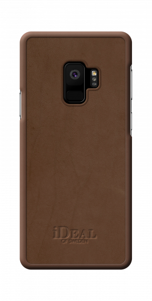 iDeal of Sweden Samsung Galaxy S9 Fashion Case Como Brown PU-Leather