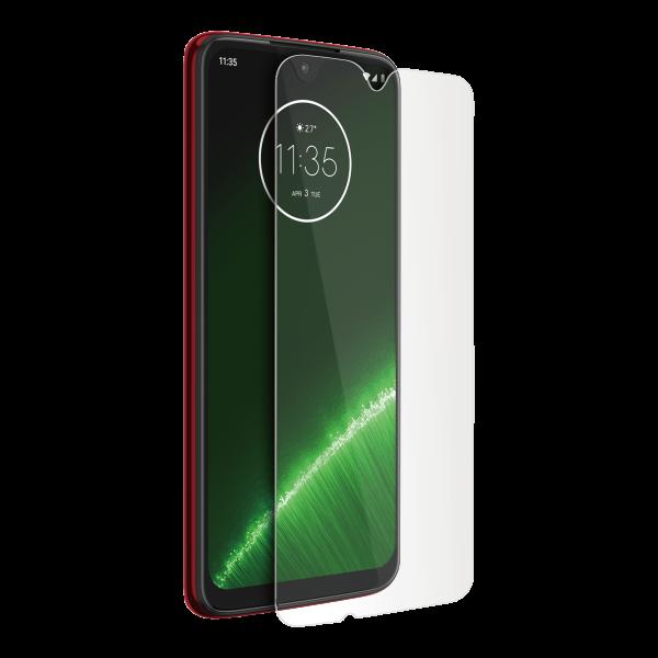 BeHello Motorola Moto G7 Plus Screenprotector Tempered Glass - High Impact Glass