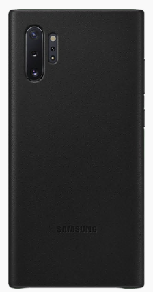 Samsung Galaxy Note10+ Leather Cover Black