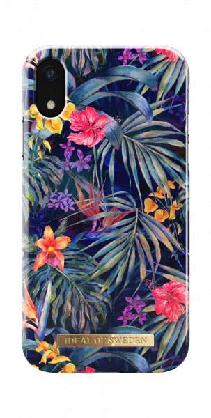 iDeal of Sweden iPhone Xr Fashion Back Case Mysterious Jungle