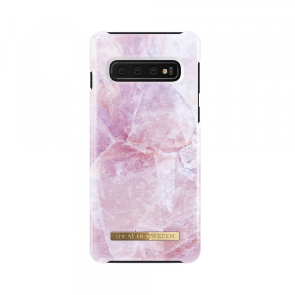 iDeal of Sweden Samsung Galaxy S10 Fashion Back Case Pilion Pink Marble
