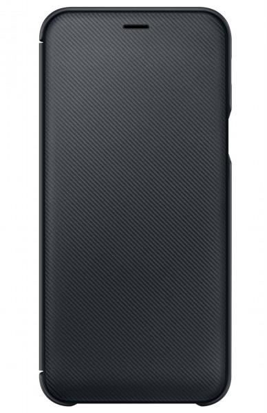 Samsung Galaxy A6 2018 Wallet Cover Case Black