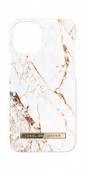 iDeal of Sweden iPhone 12 mini Fashion Back Case Carrara Gold