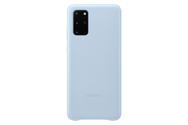 Samsung Galaxy S20+ Leather Cover Sky Blue