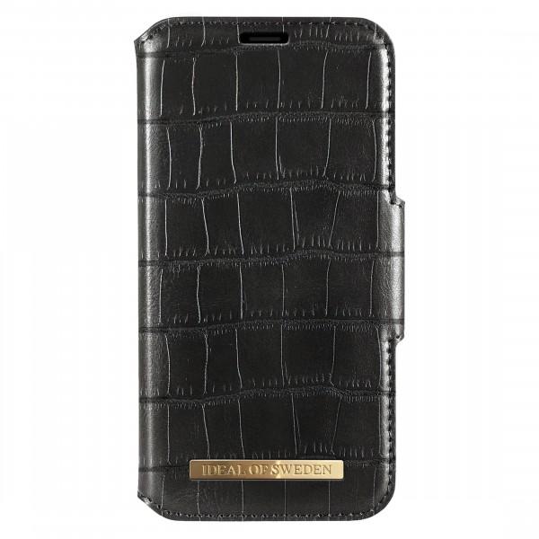 iDeal of Sweden Samsung Galaxy S10 Fashion Wallet Capri & Como Black Croco