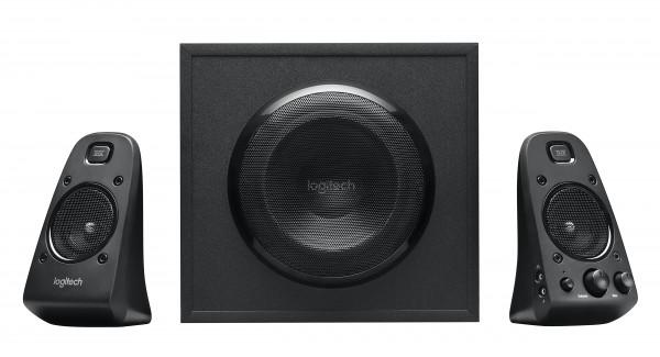 Logitech Speaker System Z623 Analog Multimedia Speakers Black