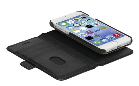 Dbramante1928 iPhone SE (2020)/8/7/6 2-in-1 Wallet Case Lynge NW Black