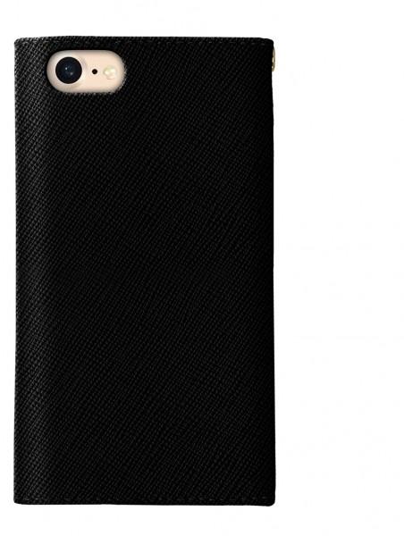 iDeal of Sweden Mayfair Clutch Wallet Case Zwart voor iPhone 8 7 6s 6