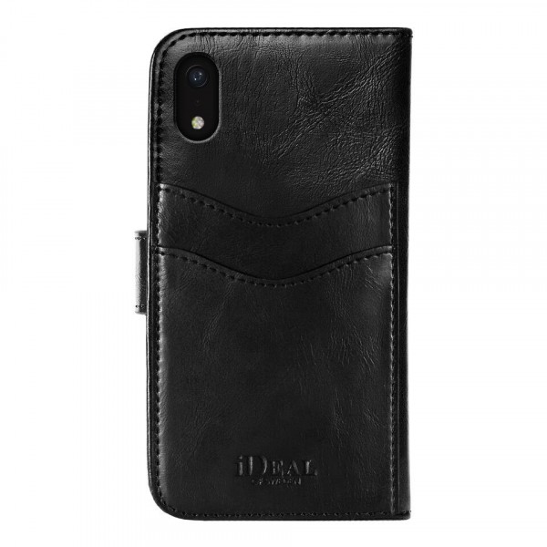 iDeal of Sweden Magnet Wallet+ Case Zwart voor iPhone Xr