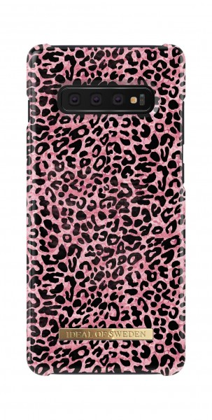 iDeal of Sweden Samsung Galaxy S10+ Fashion Back Case Lush Leopard