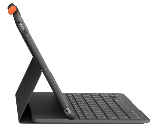 Logitech iPad 10.2 (7th gen) Keyboard Case Slim Folio QWERTY Black