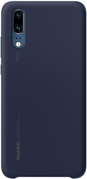 Huawei P20 Sillicon Cover Case Blauw